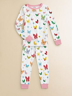 Hatley - Girl's Flying Butterflies Pajama Set