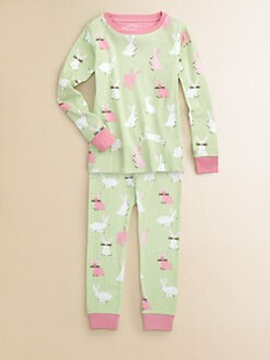 Hatley - Girl's Pretty Bunnies Pajama Set