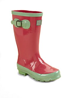 Hatley - Girl's Buckle Rain Boots