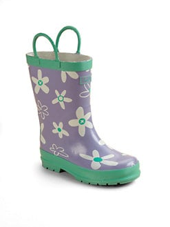 Hatley - Toddler's & Little Girl's Crafty Flowers Pull-On Rain Boots