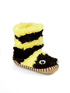 Hatley - Toddler's & Little Girl's Bee Plush Slippers