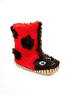 Hatley - Toddler's & Little Girl's Ladybug Slippers