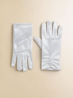 Us Angels - Girl's Stretch Satin Gloves