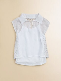 Sally Miller - Girl's Lace Blouse