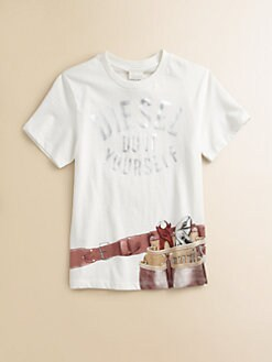 Diesel - Boy's Tool Belt Tee