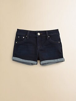 Tractor - Girl's Rolled Hem Shorts