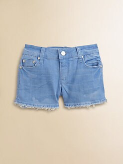 Tractor - Girl's Distressed Shorts