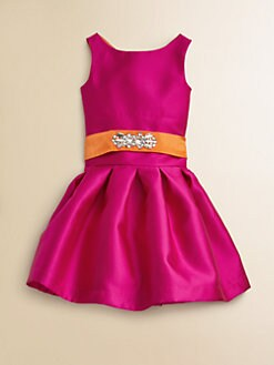 Zoe - Girl's Jeweled Audrey Dress