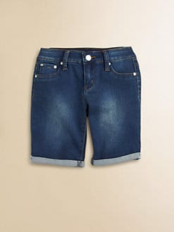 Tractor - Girl's Mini-Roll Jegging Shorts