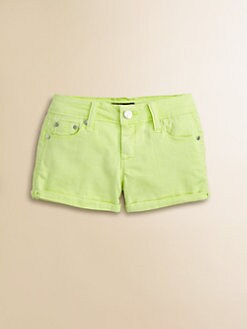 Tractor - Girl's Colored Denim Shorts