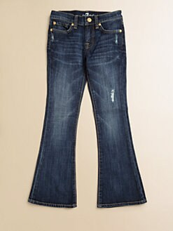 7 For All Mankind - Girl's Kaylie Flared Jeans