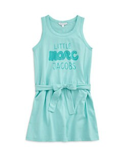 Little Marc Jacobs - Girl's Logo Tank Dress