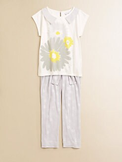 Little Marc Jacobs - Girl's Daisy Tee
