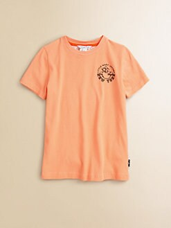 Little Marc Jacobs - Boy's Jersey Logo Tee