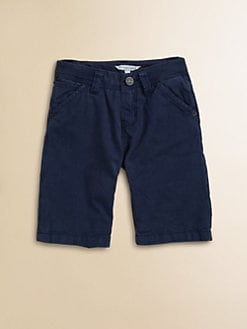 Little Marc Jacobs - Boy's Twill Bermuda Shorts