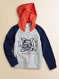 Little Marc Jacobs - Boy's Fleece Hoodie