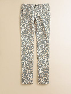 Joe's - Girl's Skinny Spotted Jeans