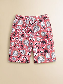Retromarine - Boy's Skull Swim Trunks