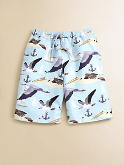 Retromarine - Boy's Seagull Swim Trunks
