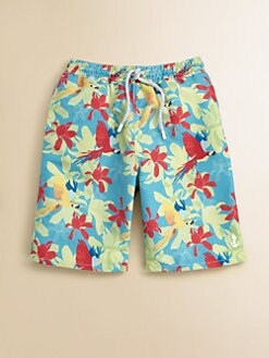 Retromarine - Boy's Parrot Swim Trunks