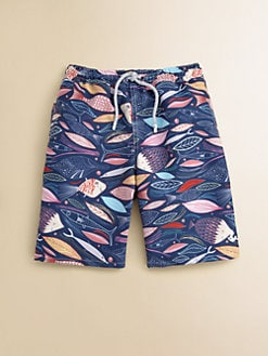 Retromarine - Boy's Fish Swim Trunks