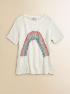 Wildfox Kids - Girl's Little Rainbow Sweater
