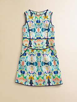 Milly Minis - Girl's Kaleidoscope Print Sheath