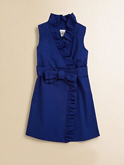 Milly Minis - Girl's Ruffled Wrap Dress