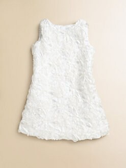 Milly Minis - Girl's Soutache-Embroidered Dress