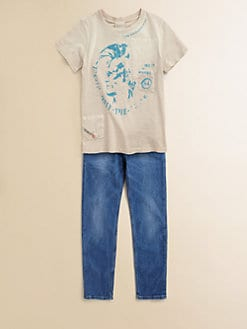 Diesel - Boy's Mohican Logo Tee