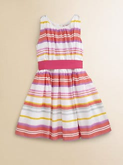 Halabaloo - Girl's Candy-Striped Dress