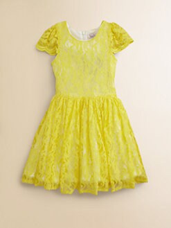 Halabaloo - Girl's Lace Party Dress