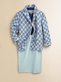Marni - Girl's Textured Print Jacket