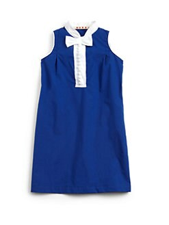 Marni - Big Girl's Contrast-Placket Dress