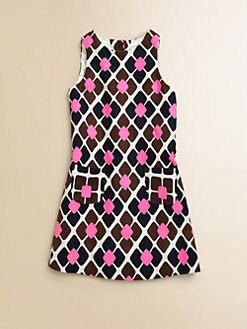 Milly Minis - Girl's Tile Print Dress