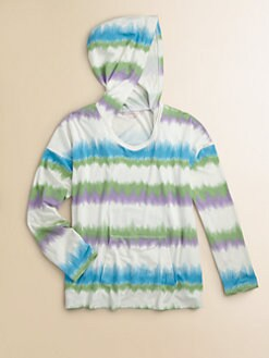 Design History - Girl's Tie-Dye Hoodie