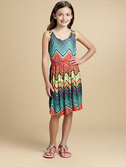 Ella Girl - Girl's Zigzag Knit Dress