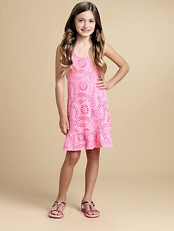 Ella Girl - Girl's Eyelet Tank Dress
