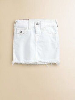 True Religion - Girl's Laylaa Cut-Off  Skirt