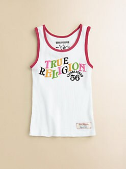 True Religion - Girl's Ringer TR 56 Tank Top