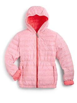 Add Down - Girl's Hooded Down Jacket