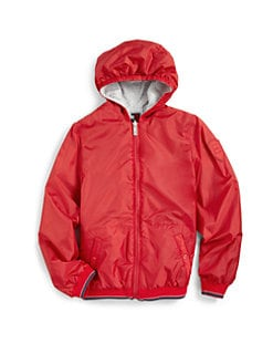 Add Down - Boy's Reversible Windbreaker Jacket