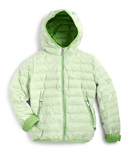 Add Down - Boy's Hooded Down Jacket