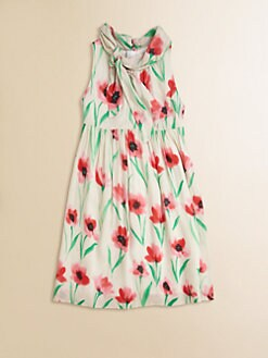 Milly Minis - Girl's Poppy Scarf Dress