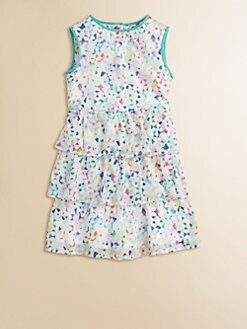 Milly Minis - Girl's Tiered Party Dress