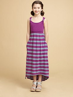 Splendid - Girl's Striped Maxi Dress