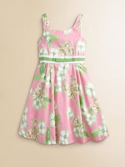 Lilly Pulitzer Kids - Girl's Mini Gosling Floral Dress
