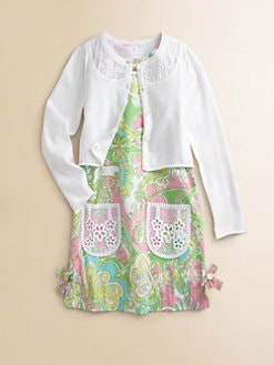 Lilly Pulitzer Kids - Girl's Shaylee Cardigan
