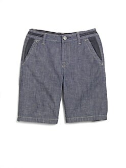 7 For All Mankind - Boy's Denim Shorts