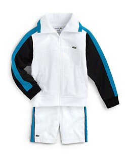 Lacoste - Boy's Andy Roddick Full Zip Track Jacket